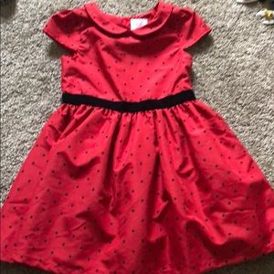 Meet Santa 🎅🏼 in this dress? 3T red and black